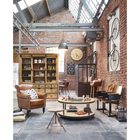 Rustic industrial decor and design ideas 05