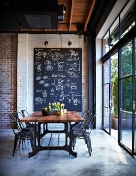 Rustic industrial decor and design ideas 33