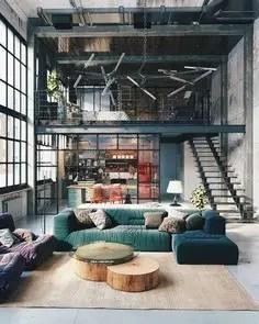 Rustic industrial decor and design ideas 38