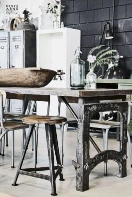 Rustic industrial decor and design ideas 43