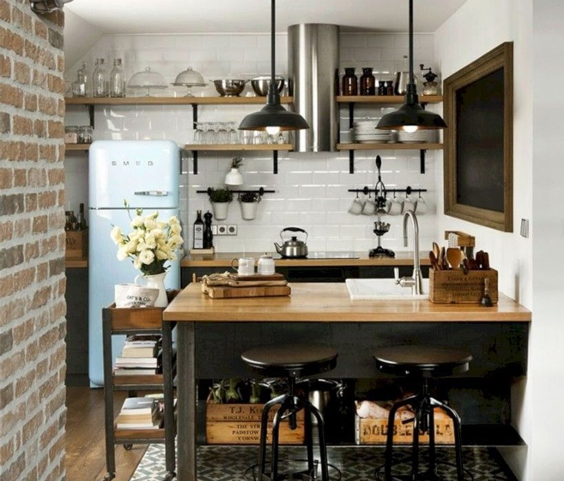 Rustic industrial decor and design ideas 50