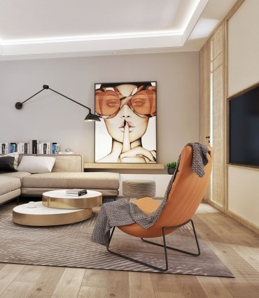Stylist and modern furniture for your living room 24
