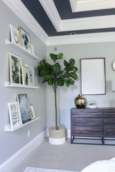 Corner shelves that change home decor become more beautiful 04