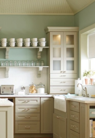 Corner shelves that change home decor become more beautiful 32