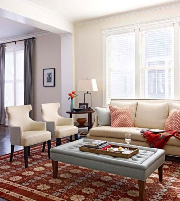 Design a living room in a small space that remains comfortablel 06