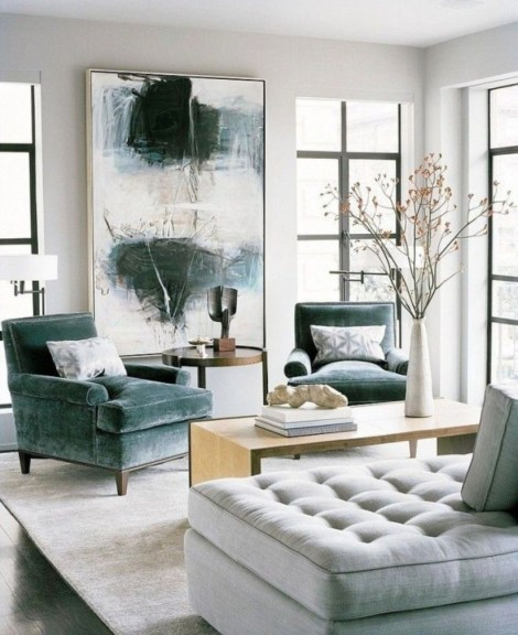 Design a living room in a small space that remains comfortablel 23