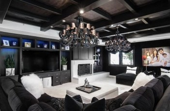 Elegant and attractive living room design ideas 34