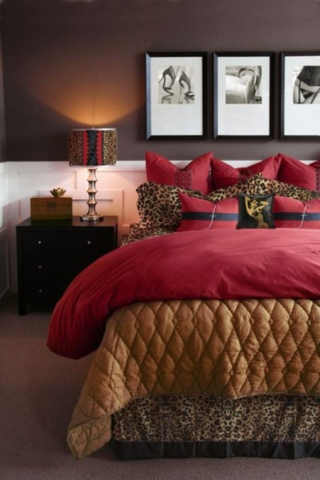 Home interior design with the concept of valentine's day 06