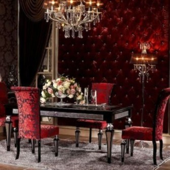 Home interior design with the concept of valentine's day 07