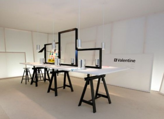 Home interior design with the concept of valentine's day 17