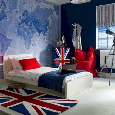 Stylish boys bedroom ideas that you must try 43
