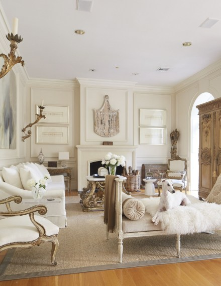 The design of the living room looks luxurious 01