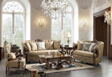 The design of the living room looks luxurious 02