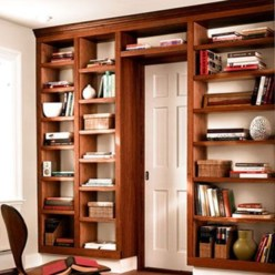 The best bookshelf designs are popular this year 38