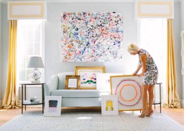 The best artistic livingroom design 35