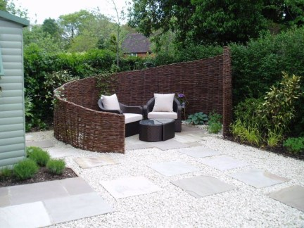 The best garden design for small areas 06