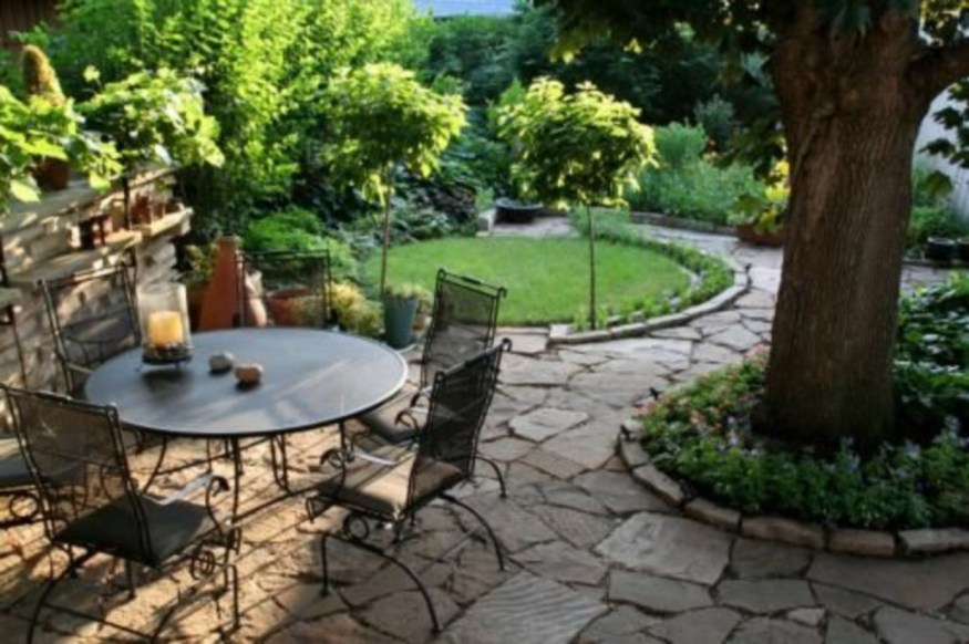 The best garden design for small areas 13