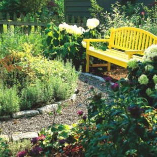 The best garden design for small areas 15
