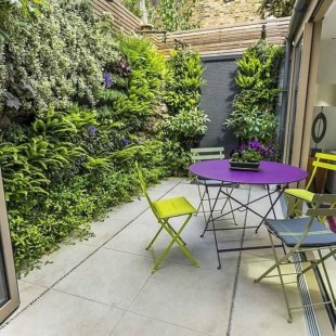 The best garden design for small areas 21