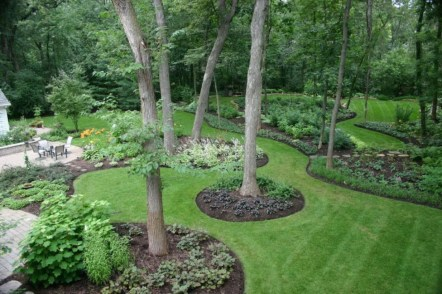 The best garden design for small areas 23