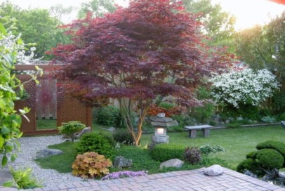 The best garden design for small areas 35