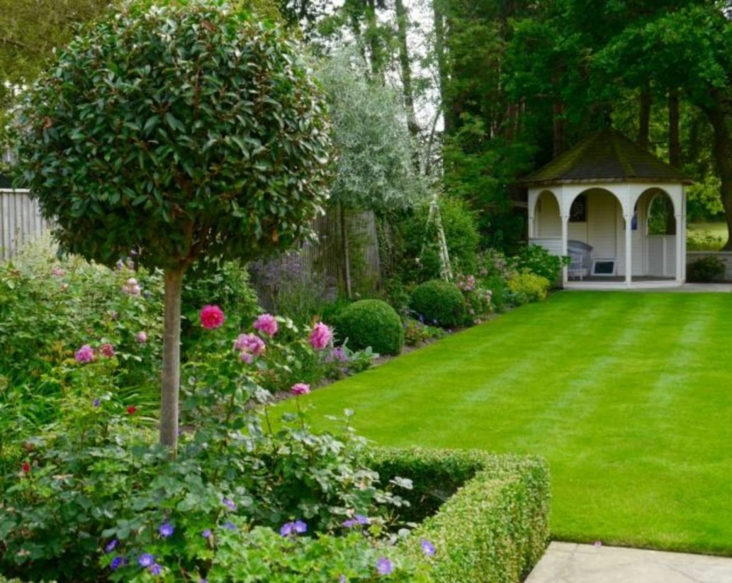 The best garden design for small areas 37