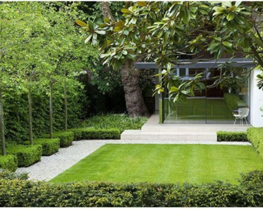 The best garden design for small areas 42