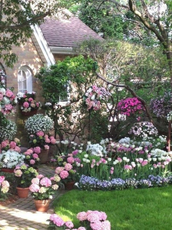 Amazing rose garden ideas in this year 07