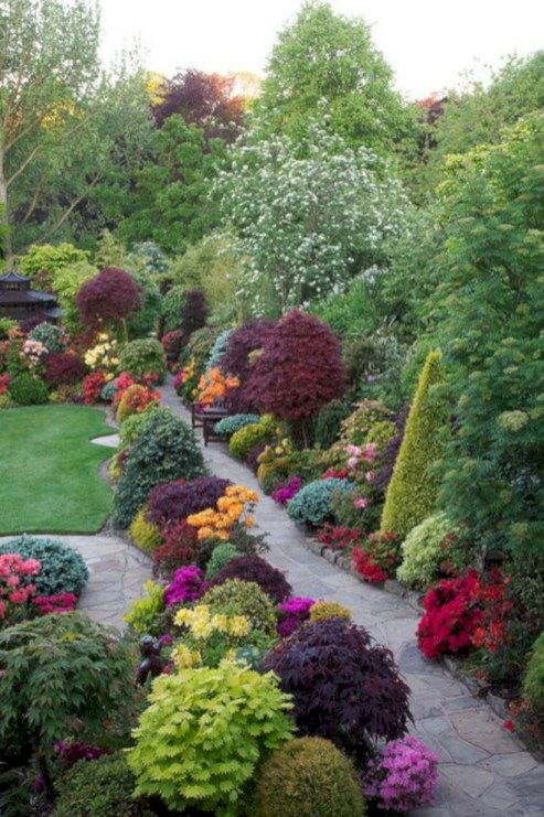 Amazing rose garden ideas in this year 17
