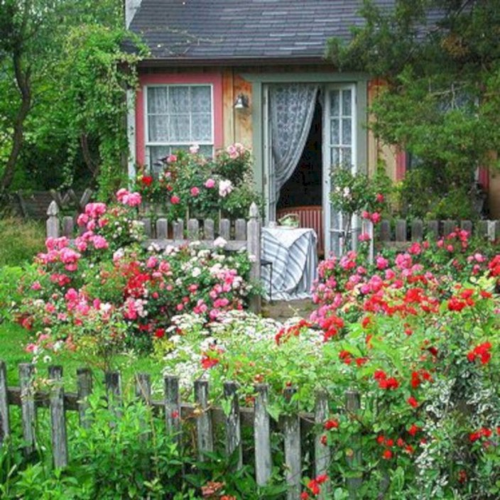 Amazing rose garden ideas in this year 22