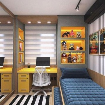 Boys bedroom ideas for you try in home 40