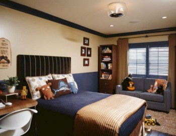 Cozy small bedroom ideas for your son 04