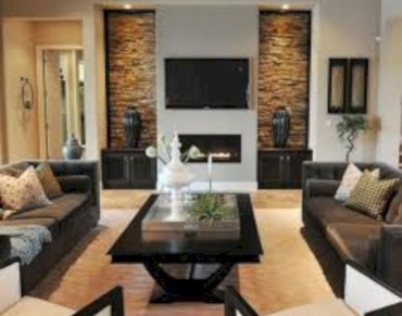 Living room design ideas that you should try 12