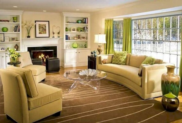 Living room design ideas that you should try 46