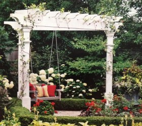 The best garden design ideas with the concept of valentines day 36