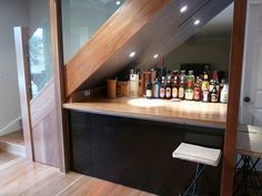 Amazing mini bar design ideas that you can copy right now 04