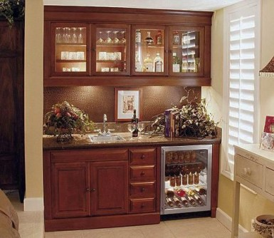 Amazing mini bar design ideas that you can copy right now 10