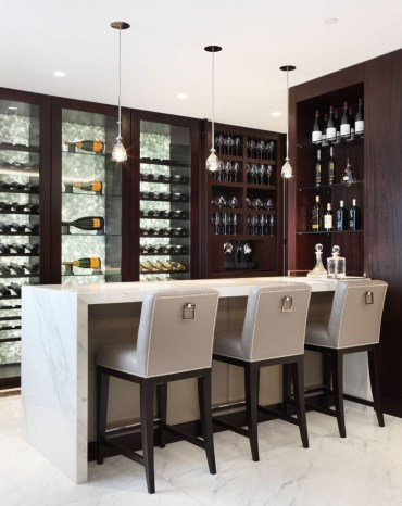 Amazing mini bar design ideas that you can copy right now 16