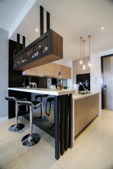 Amazing mini bar design ideas that you can copy right now 17