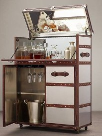 Amazing mini bar design ideas that you can copy right now 26