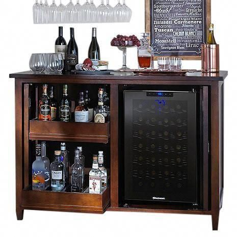 Amazing mini bar design ideas that you can copy right now 27