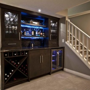 Amazing mini bar design ideas that you can copy right now 29