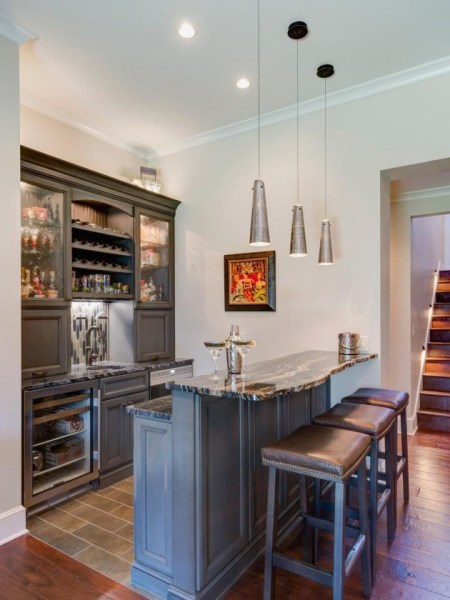Amazing mini bar design ideas that you can copy right now 30