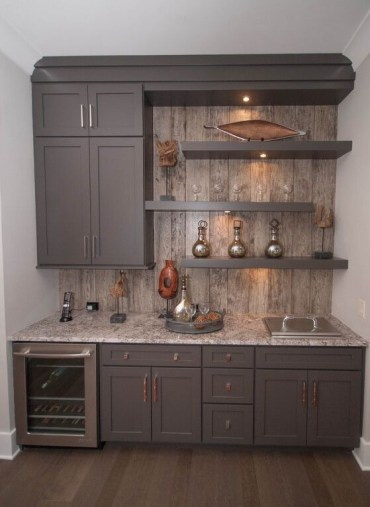 Amazing mini bar design ideas that you can copy right now 48