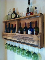 Amazing mini bar design ideas that you can copy right now 49