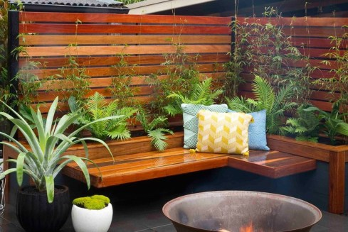 Backyard design for small areas that remain comfortable to relax 08