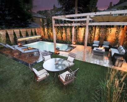 Backyard design for small areas that remain comfortable to relax 20