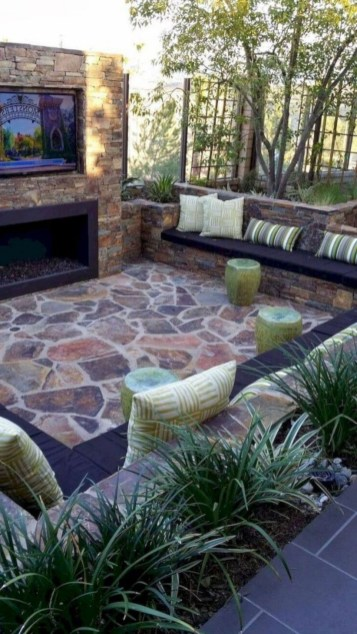Backyard design for small areas that remain comfortable to relax 22
