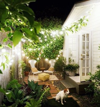 Backyard design for small areas that remain comfortable to relax 24