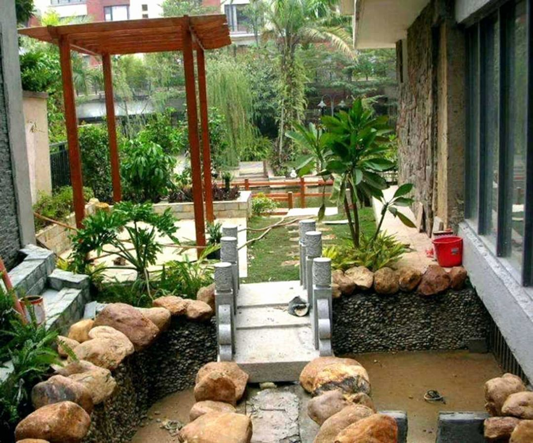 Backyard design for small areas that remain comfortable to relax 38